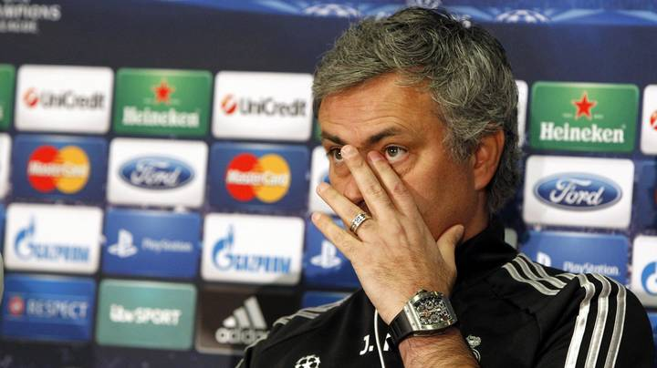 Jose Mourinho Reveals The Only Loss That Caused Him To Cry