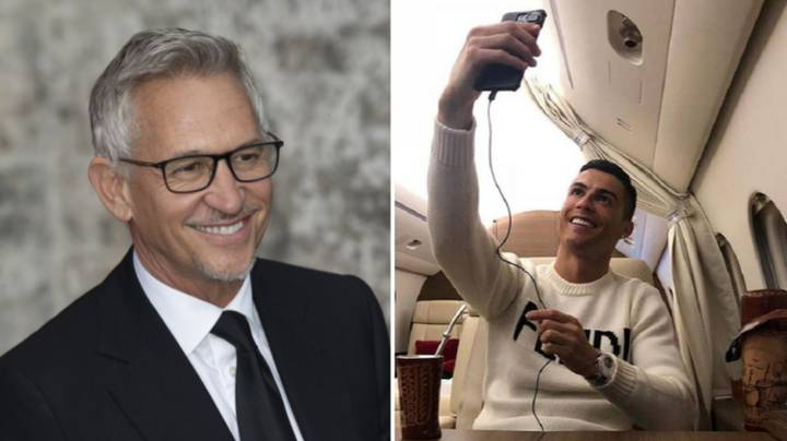 Cristiano Ronaldo's Transfer To Manchester United Was Completed In Gary Lineker's Back Garden