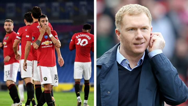 Paul Scholes Gives Honest Verdict On Manchester United's Win Against Brighton