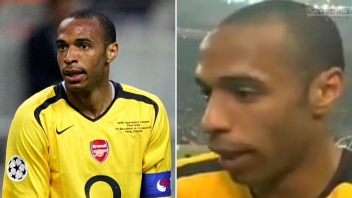 Thierry Henry's Sensational Interview After Losing The 2006 CL Final Is A Legendary Meltdown