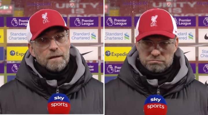 Jurgen Klopp 'Can't Imagine The Title Race' After Burnley's Sensational Win Over Liverpool At Anfield