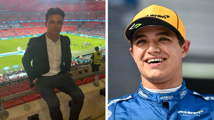 F1 Star Lando Norris Left Visibly 'Shaken' After Being Mugged Of His $75,000 Watch At Euro 2020 Final