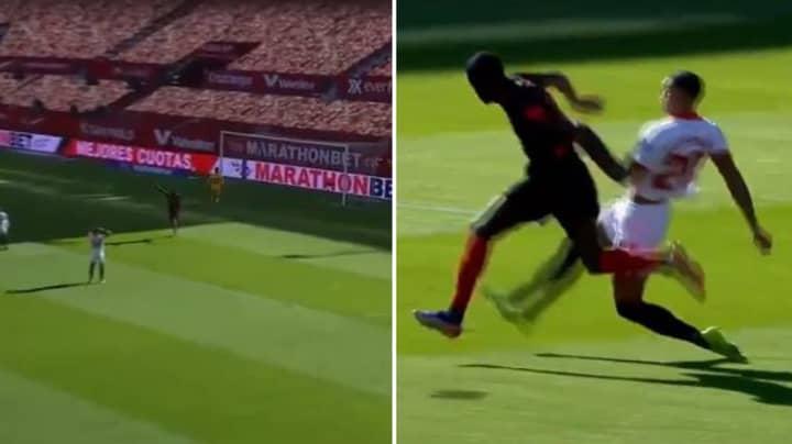 Sevilla Defender Diego Carlos Scores Incredible Own Goal