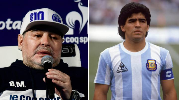 Diego Maradona's Last Ever Interview Summed Him Up Perfectly