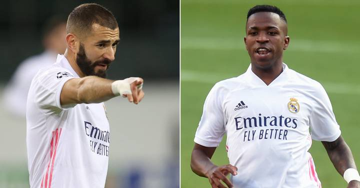 Stats Show Karim Benzema Did Not Pass To Vinicius Jr At All In Second Half