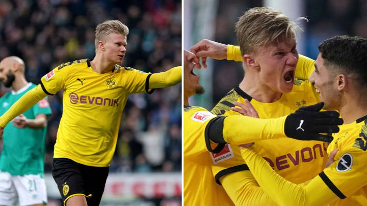 Fans Are Loving Erling Haaland's Movement After Yet Another Goal