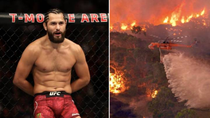 Jorge Masvidal Offers To Personally Help Put Out Deadly Australia Fires