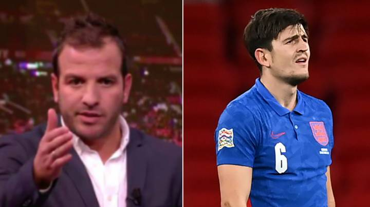 Rafael Van Der Vaart's Scathing Put-Down To Harry Maguire Has Resurfaced