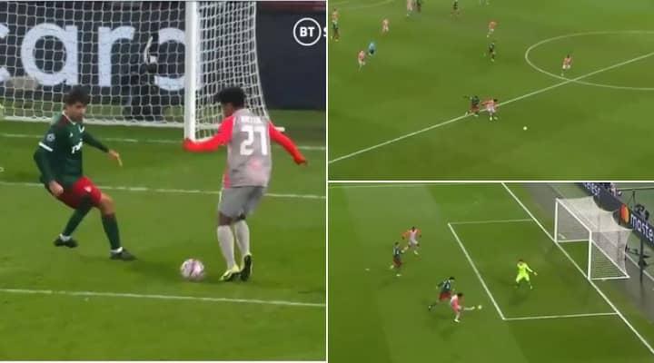 Teenage Wonderkid Karim Adeyemi Scores Terrific First Champions League Goal
