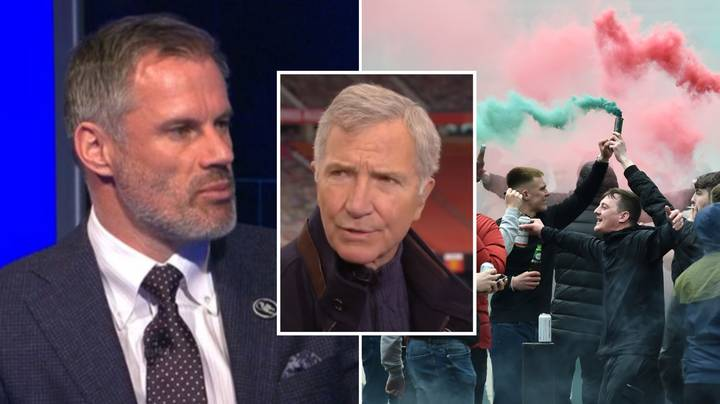 Jamie Carragher Perfectly Dismantles 'Lazy Punditry' Regarding Manchester United Protests In Legendary Rant