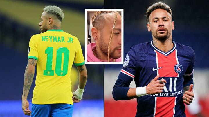 Neymar Has A Drastic New Haircut And It Took A Four-Hour Procedure