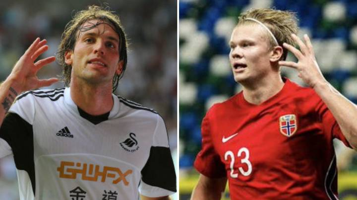 Michu Finally Breaks Silence Over Erling Haaland Using His Iconic Goalscoring Celebration
