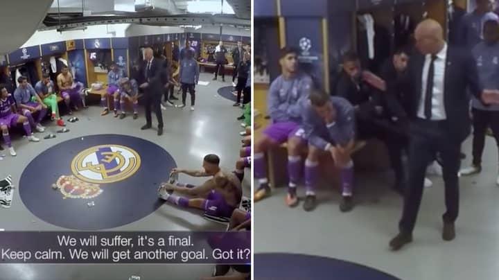 Zinedine Zidane's Half-Time Team Talk During Champions League Final vs Juventus Is A Brilliant Watch