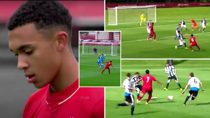 Footage Of Trent Alexander-Arnold Playing In Midfield For Liverpool's Youth Team Shows He Can Shine In That Position
