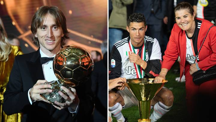Cristiano Ronaldo's Mother Claims The 'Football Mafia' Robbed Her Son Of The Ballon d'Or