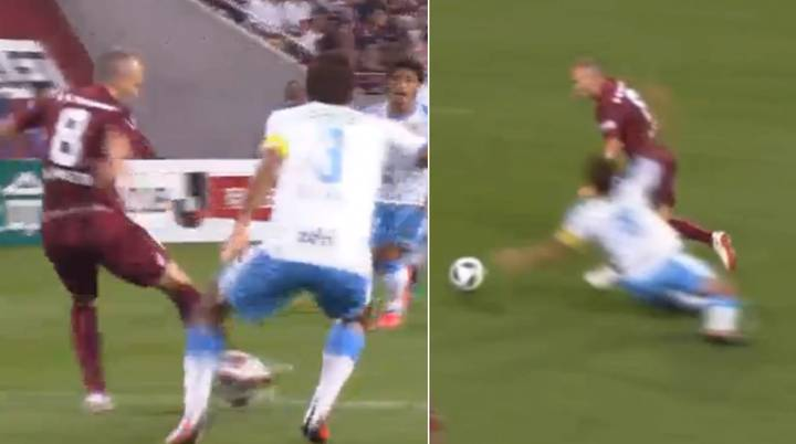 Andres Iniesta Just Scored The Sexiest Goal You'll See All Season