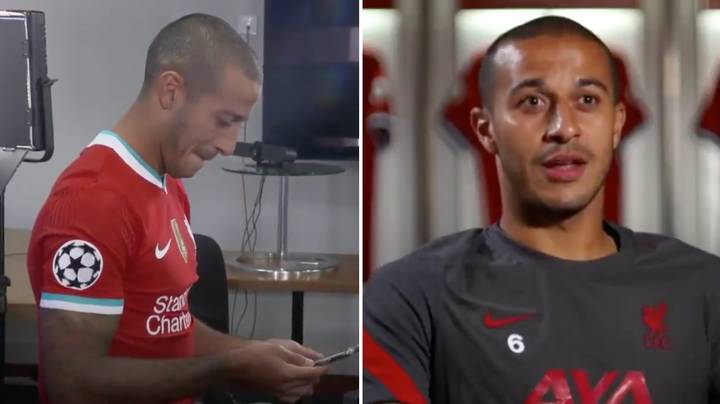 """Thiago Opens Up On The Two Former Liverpool Players Who """"Helped"""" Him Decide To Join Liverpool"""