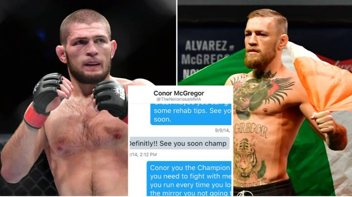 The Damning Private Message Khabib Sent To Conor McGregor Back In 2016 Resurfaces Online