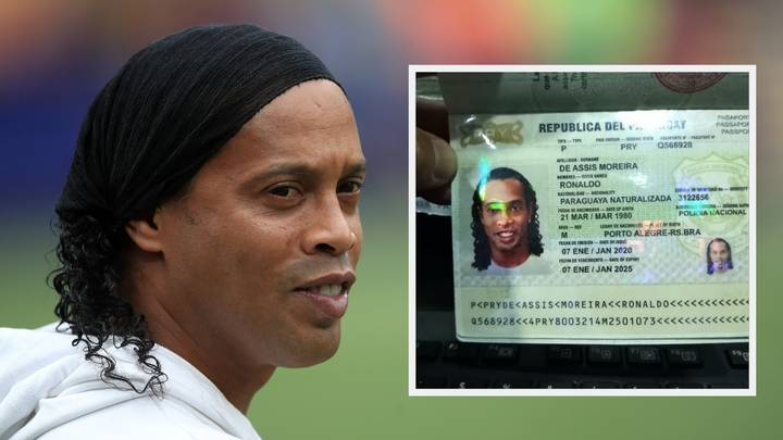 Ronaldinho Arrested In Paraguay For Allegedly Having A Fake Passport