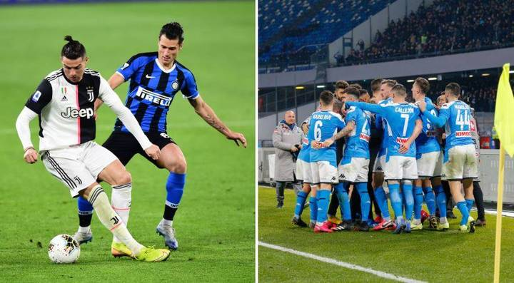The Serie A Title Could Be Decided In A Very Unique Way