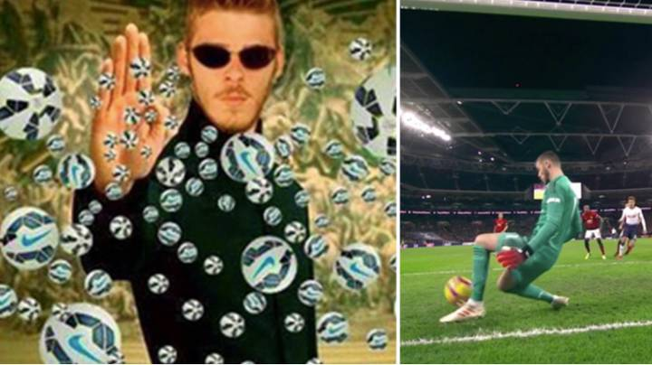 David De Gea Produces Stunning Performance Against Spurs At Wembley