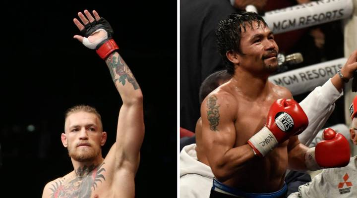 Conor McGregor Teases Potential Fight With Manny Pacquiao On Twitter