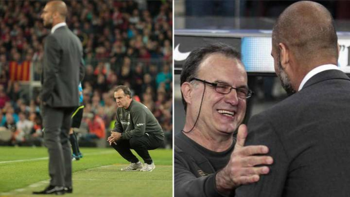 Marcelo Bielsa Reveals What Pep Guardiola Said To Him When He Spied On Barcelona