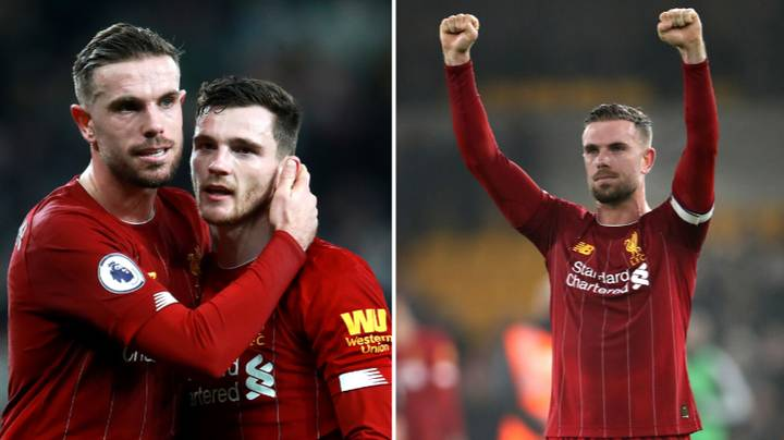 Andrew Robertson Says Liverpool Captain Jordan Henderson Deserves Player Of The Year Award