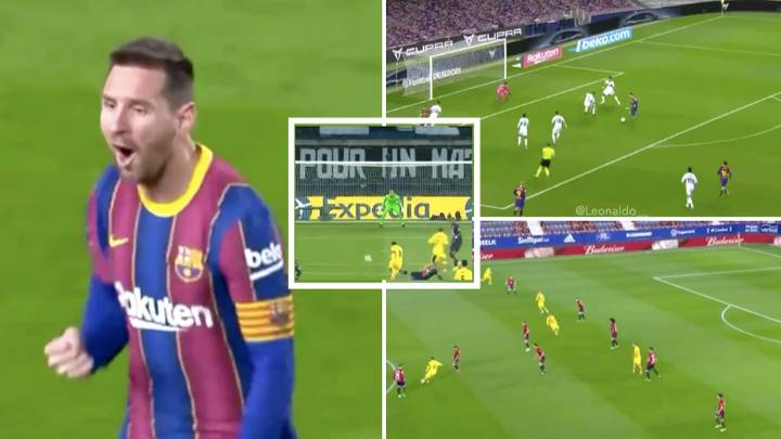 Compilation Of Lionel Messi's 21 Goals And Assists In 2021 Proves He's Still The World's Best