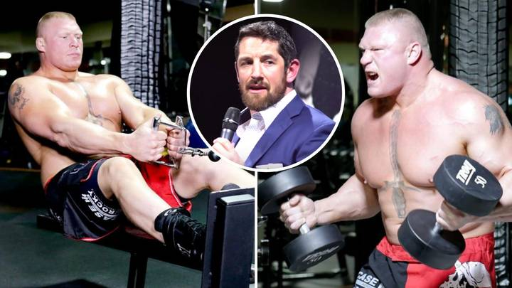 Brock Lesnar Terrified Fan In Gym By Asking If He Was 'Trying To See My F*****g Penis,' Says Wade Barrett
