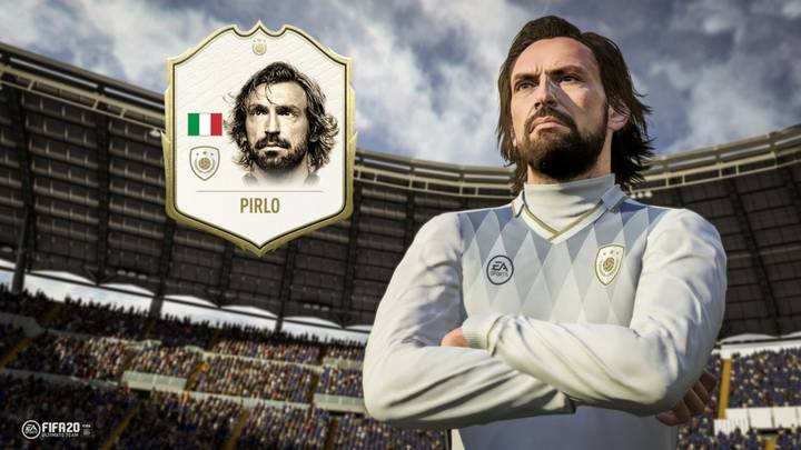 Juventus Legend Andrea Pirlo Named As The First Icon For FIFA 20 Ultimate Team