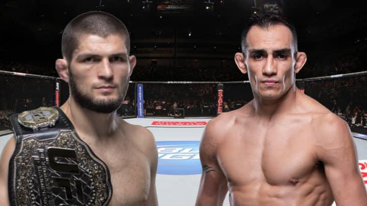 Khabib Nurmagomedov Set To Defend UFC Title Against Tony Ferguson In New York