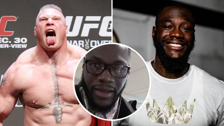 Deontay Wilder Called Out Brock Lesnar And Claimed He Would Beat Him In A Crossover Fight