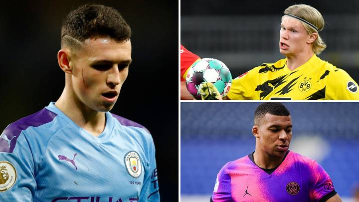 Fans Argue Phil Foden Is 'Better Than Erling Haaland And Kylian Mbappe' After Performance Vs Aston Villa