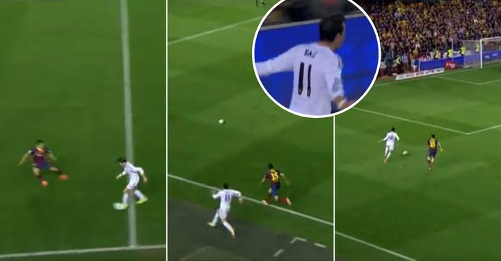 When Gareth Bale Showed 99 Pace To End Marc Bartra