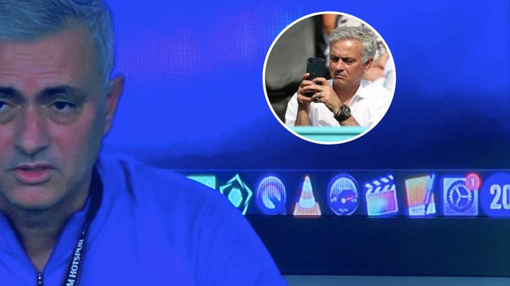 Fans Have Spotted Jose Mourinho Having Football Manager 20 On His Laptop