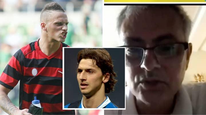 Jose Mourinho Claims 18-Year-Old Marko Arnautovic Told Him He Was Better Than Zlatan Ibrahimovic And Adriano