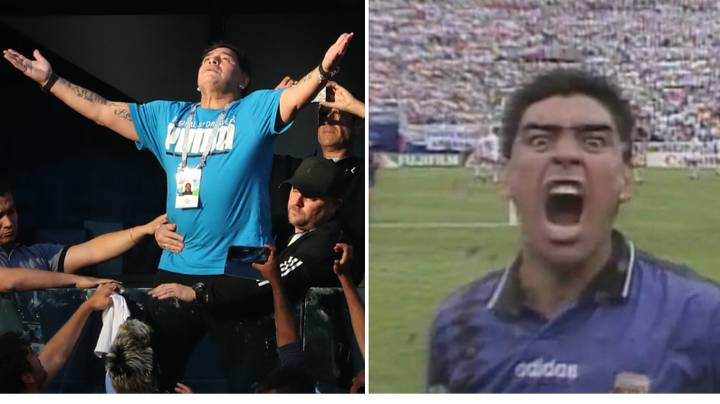 Diego Maradona's Insane Weekly Cocaine Binges As A Player Revealed