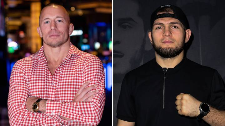 Georges St-Pierre Would Return For Blockbuster Clash With Khabib Nurmagomedov If 'The Deal Is Right'