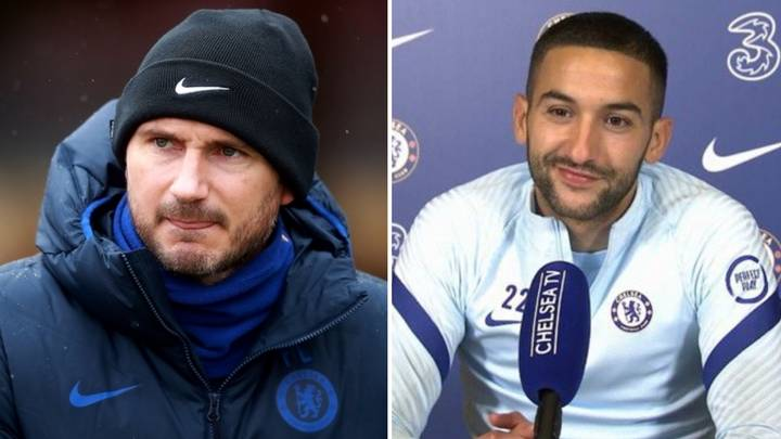 How Frank Lampard Convinced Hakim Ziyech To Leave Ajax And Join Chelsea