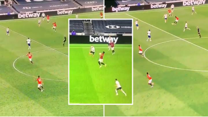 Paul Pogba's Ridiculous Long-Range Volleyed Pass To Marcus Rashford Sends Manchester United Fans Wild