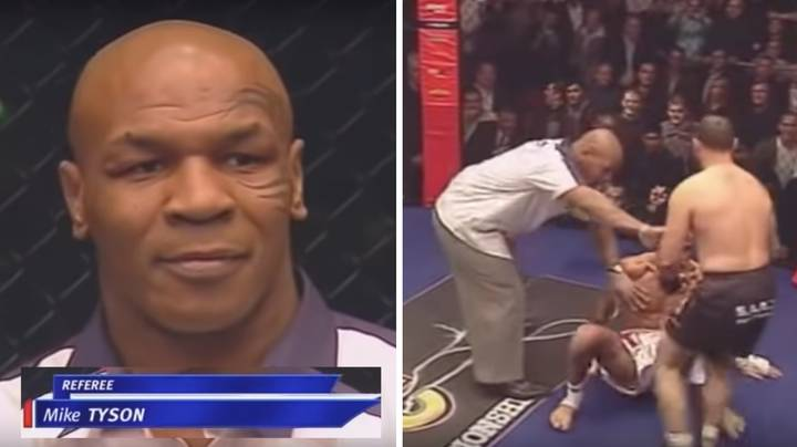 Mike Tyson Once Refereed A Cage Fight In England And It's Actually The Best Thing Ever