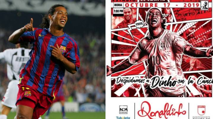 Ronaldinho To Come Out Of Retirement For October Friendly
