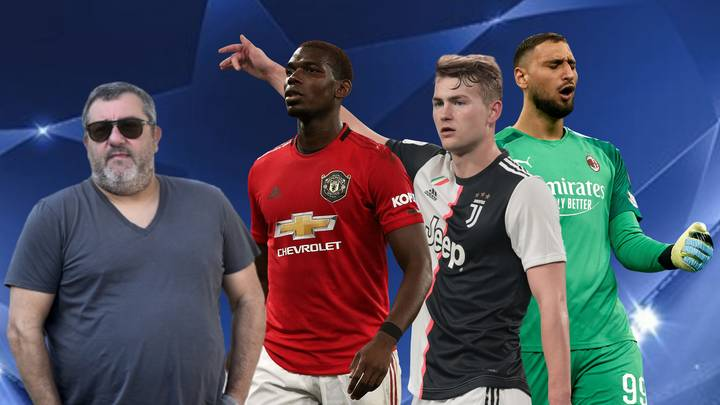 The List Of World-Class Players Who Have Mino Raiola As Their Agent