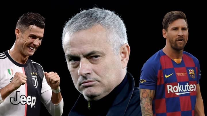 Jose Mourinho Had A Great Answer To The Lionel Messi And Cristiano Ronaldo Debate
