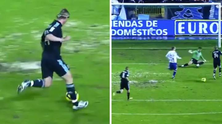 Guti Is Responsible For The Greatest Assist Of All Time: The No-Look, Backheel