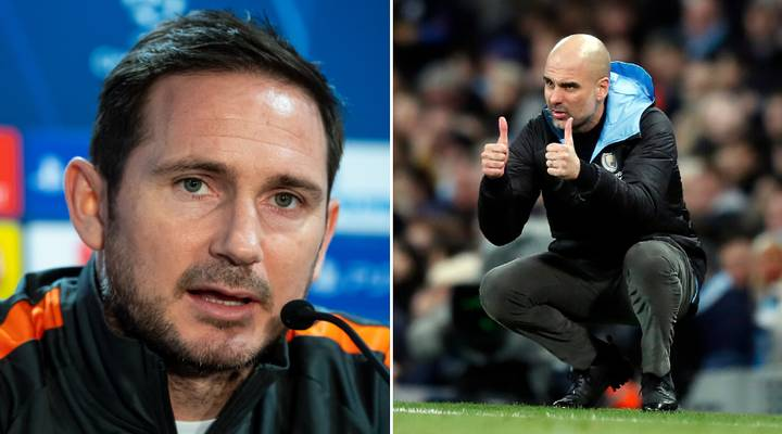 Frank Lampard Claims He Didn't Pin Champions League Hopes On Man City Ban