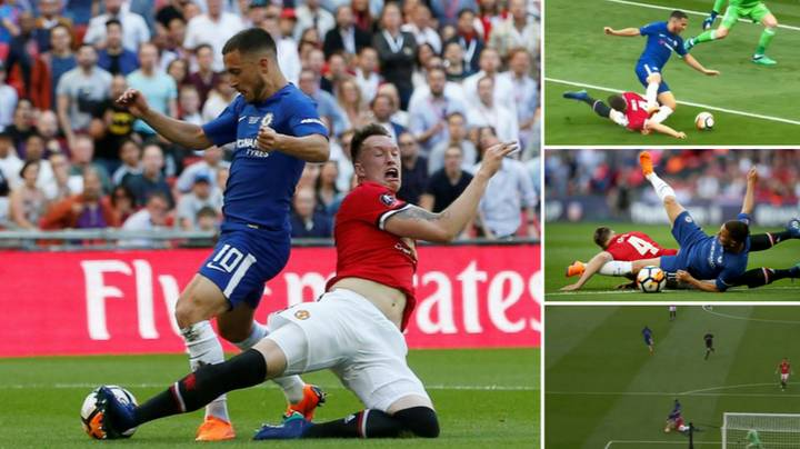 Phil Jones Goes Full Phil Jones, Gives Away Penalty In FA Cup Final