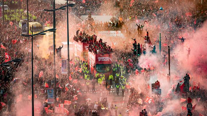 750,000 Fans Turn Out For Liverpool's Champions League Parade