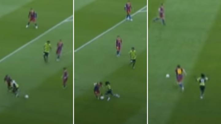 When Lionel Messi Humiliated Royston Drenthe For Trying Skills In Front Of Him